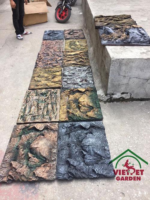 Các mẫu Background 3D dành cho bể bò sát hiện Việt Pet Garden đang cung cấp