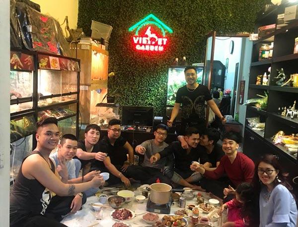 Hình ảnh các thành viên của ngôi nhà chung Việt Pet Garden Shop
