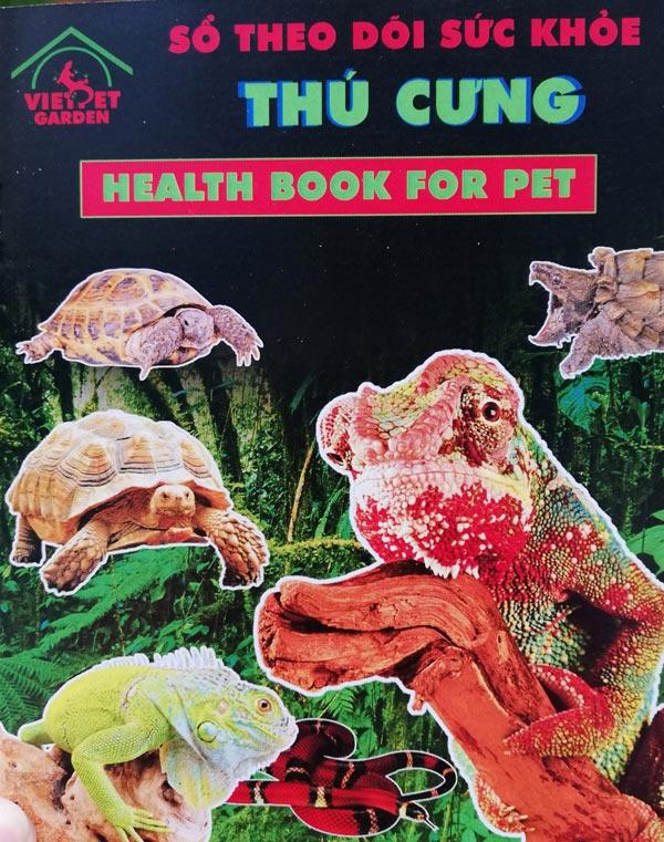 Sổ theo dõi sức khỏe - Góp phần tạo nên sự chuyên nghiệp của Việt Pet